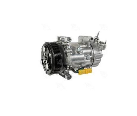 What is the reason why the car air-conditioning compressor does not work