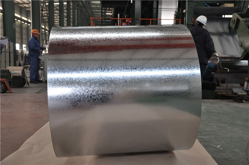 Is the steel coil placed horizontally? Why do you want to put it horizontally?