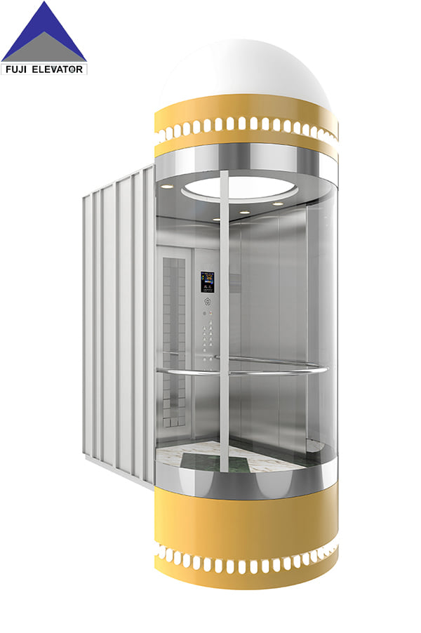 What is the layout of the MRL elevators?