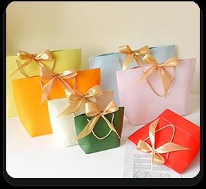 Hand paper bag