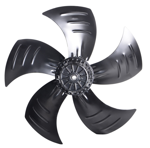 What is the type of axial fan in use