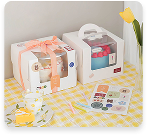 Food and baking Packaging box