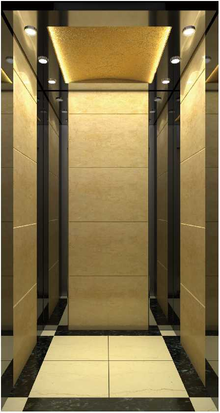 What kind of places are passenger elevators suitable for?