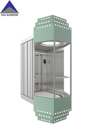 Where is the observation elevator suitable for use