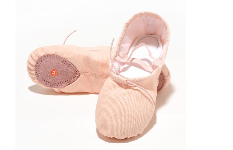 What is the correct way to buy ballet shoes