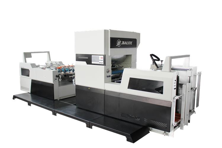 Laminating process of small laminating machine