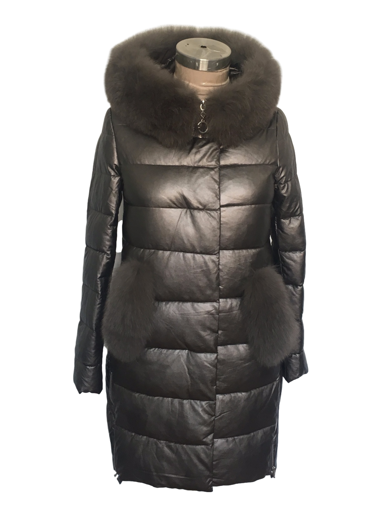 womens long down coat