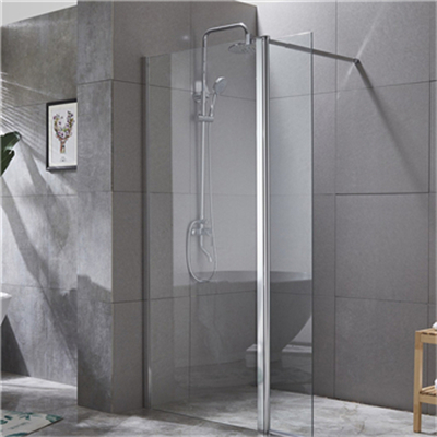 What are the functions of the shower enclosure