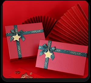 Hardcover gift box