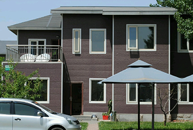 prefab villa house