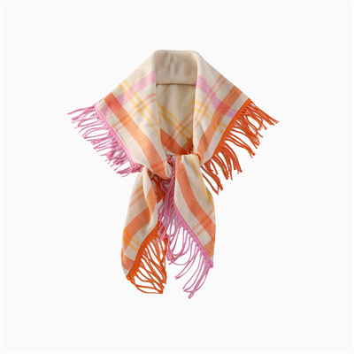 Shawl wears a different style