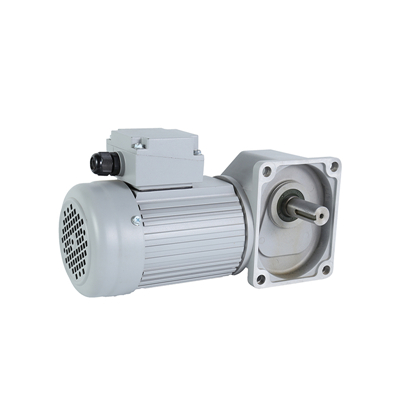 What is the possible cause of the overheating of the AC geared motor bearing