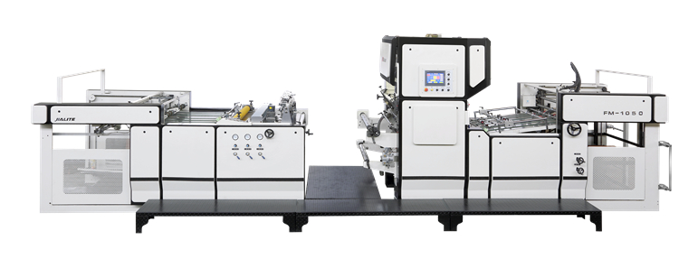 About the laminating process of the laminating machine