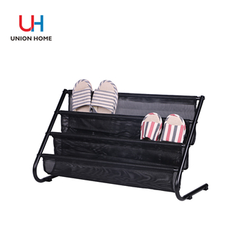 What types of creative shoe racks are there