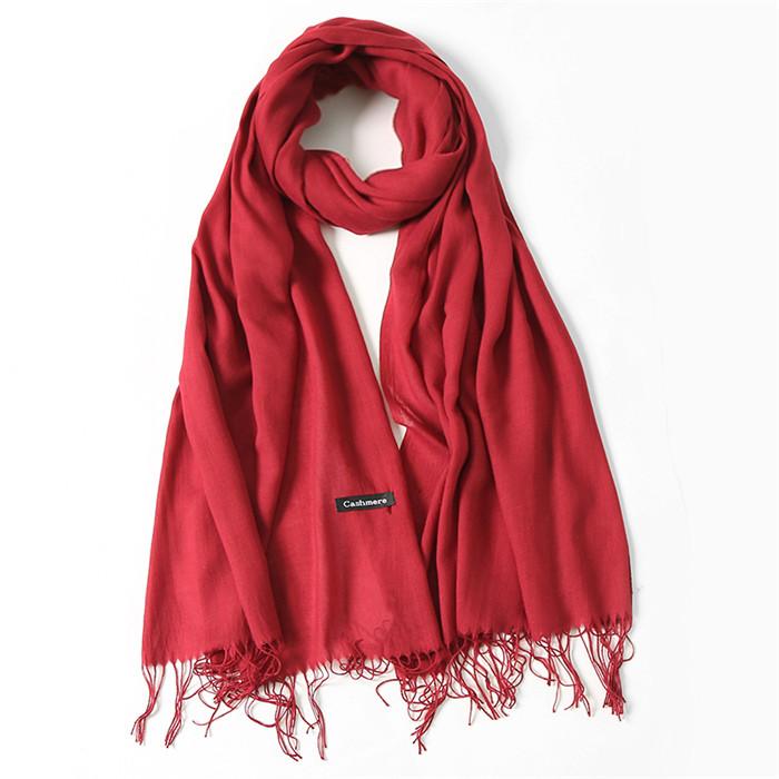long pashmina head scarves
