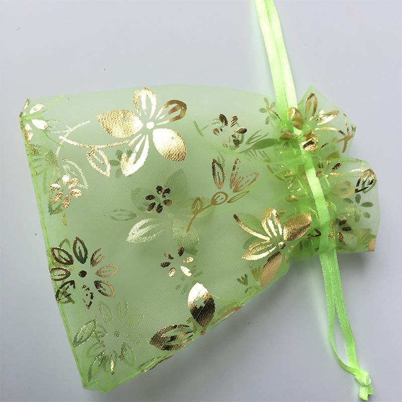 small organza drawstring bag