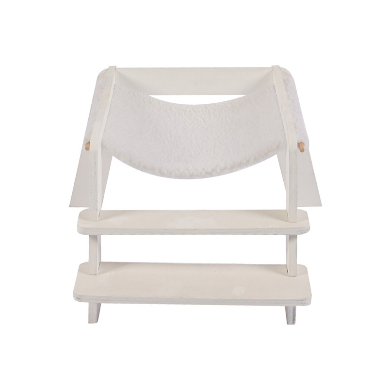 White removable cat bed pet supplies
