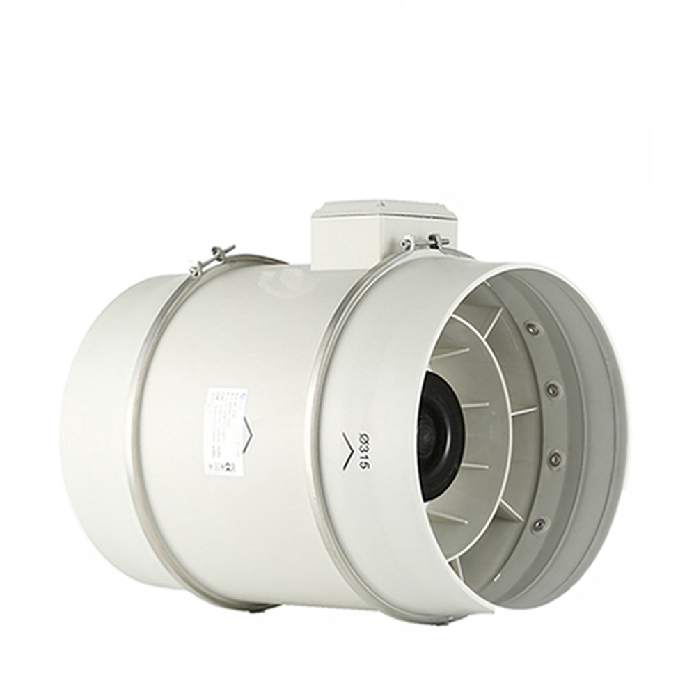 5 inch 125mm Low noise levels inline duct fan for Bathroom