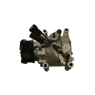 Aircon car compressor with stable performance