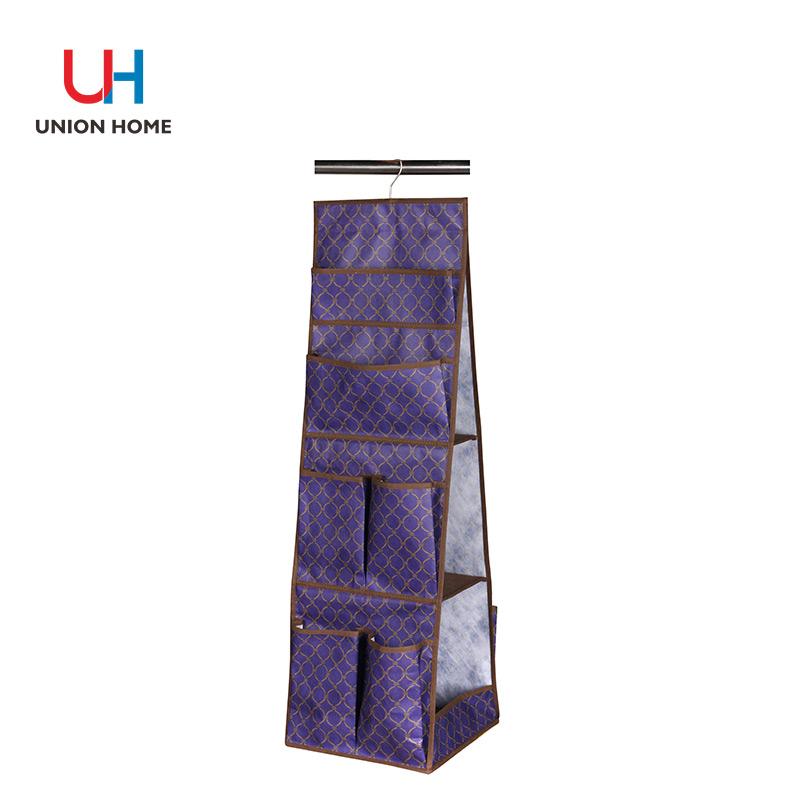 Multi functional nonwoven storage hanging bag