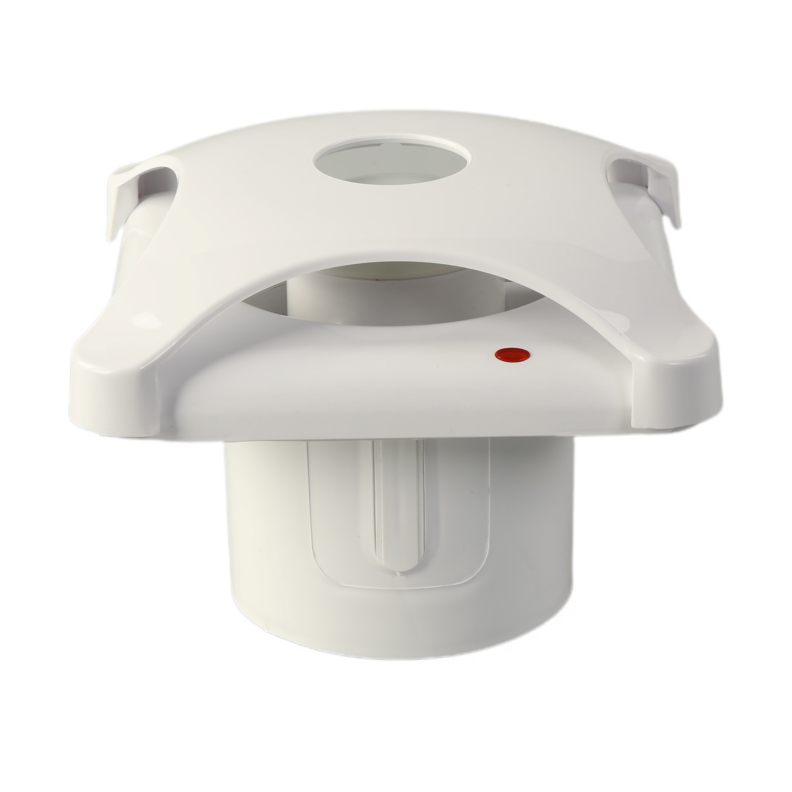 Ventilation Plastic Silent Glass Window Ceiling with Led Light Exhaust Fan