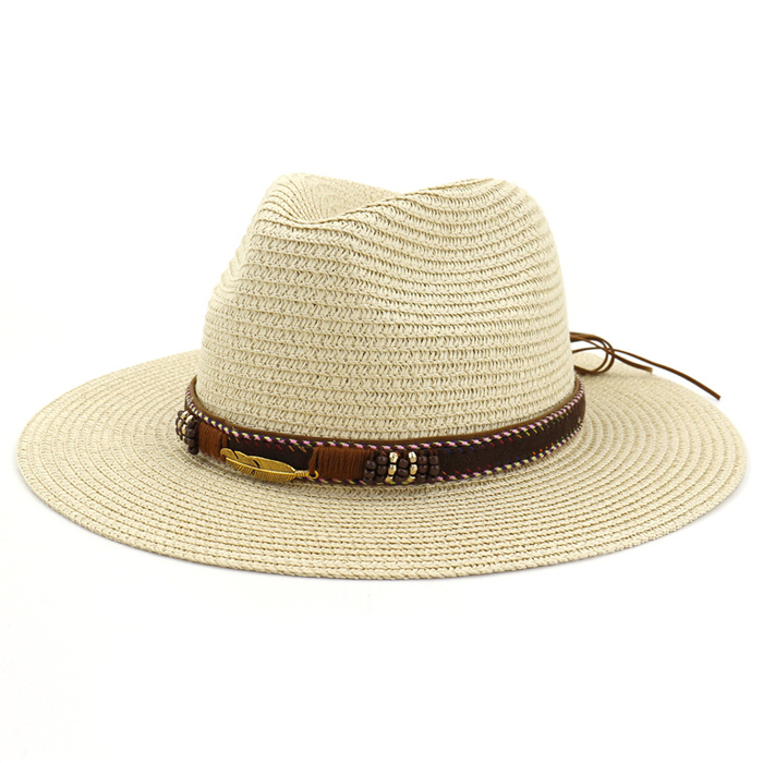 Beach hat outdoor sea straw hat