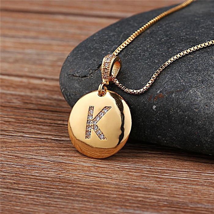 26 Letters Charm Necklaces