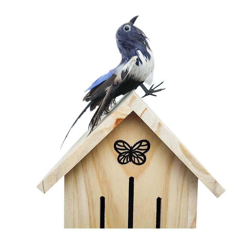 Solid wood insect nest pet supplies