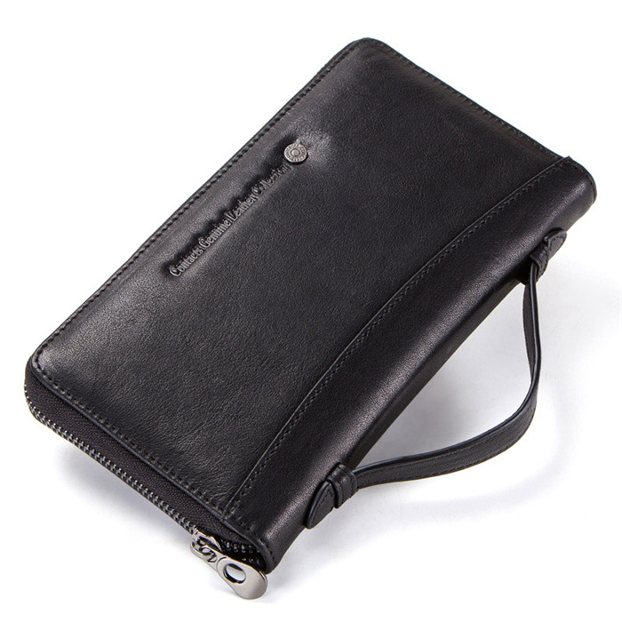 Multifunctional hand bag leather business