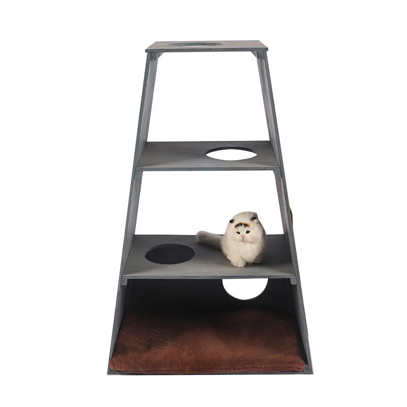 Solid wood cat climbing frame pet supplies
