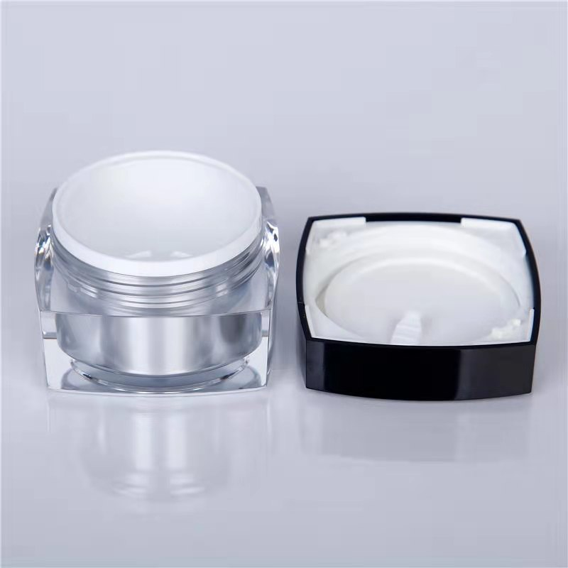 50ml cosmetic jars with lids