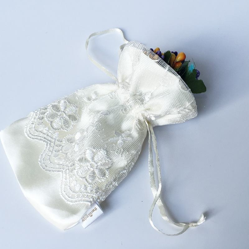 Customized satin gift bag