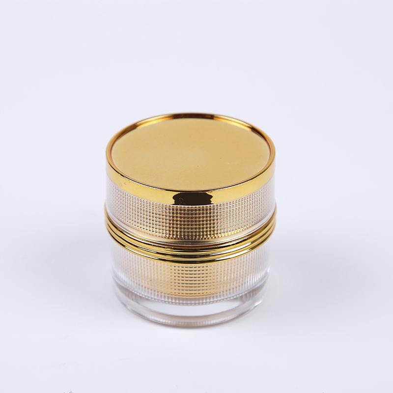 glass cosmetic jars