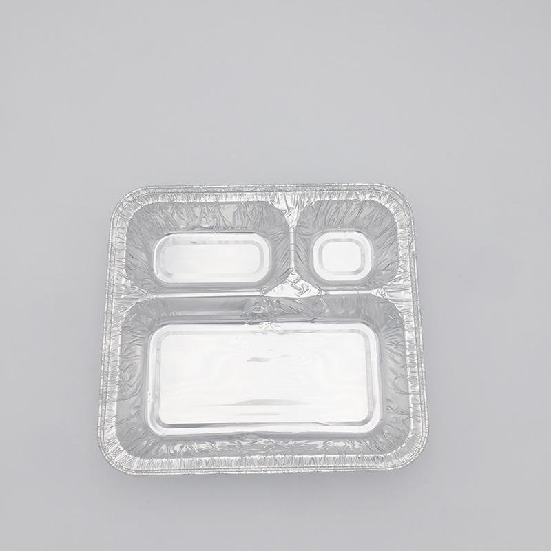 Devided aluminium containers supplier