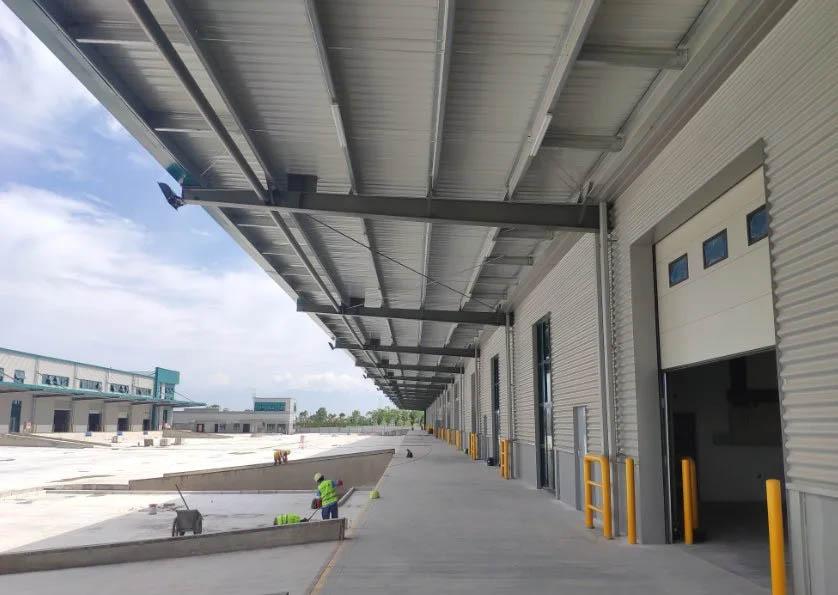 steel structure shed workshop