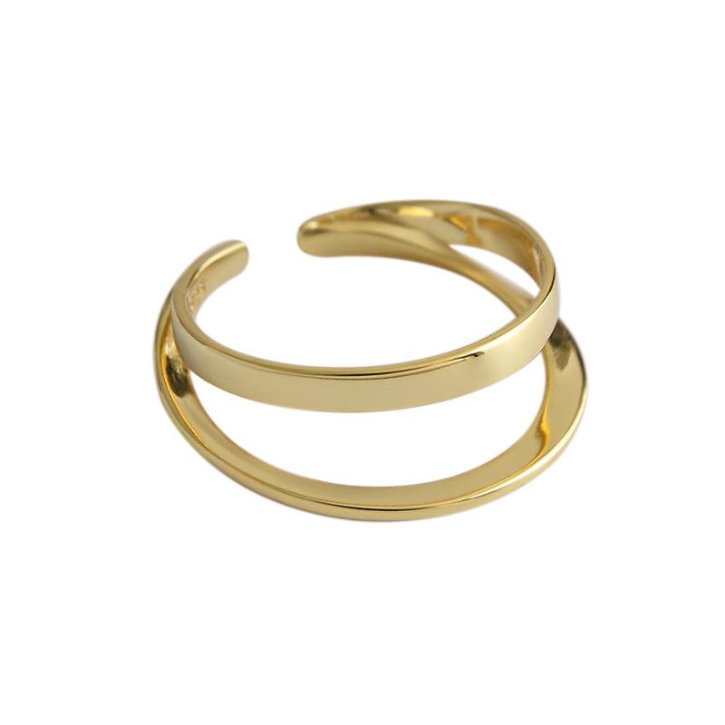 Ring three-dimensional irregular geometry