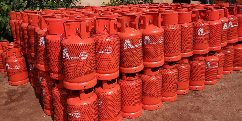 weight of lpg cylinder for domestic