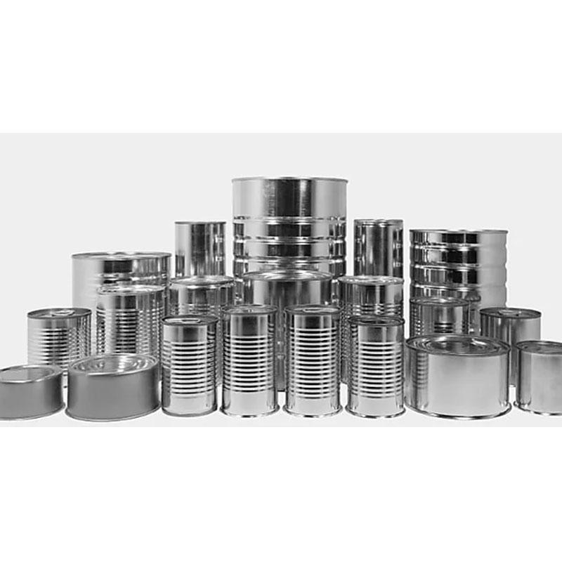 Metal Can of tin-coated steel