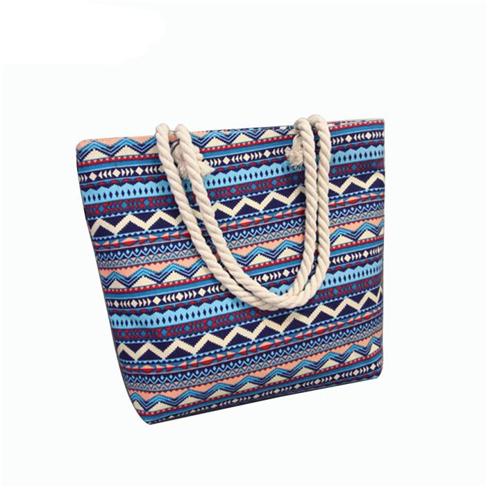 Large Capacity Tote Canvas Shoulder Bag
