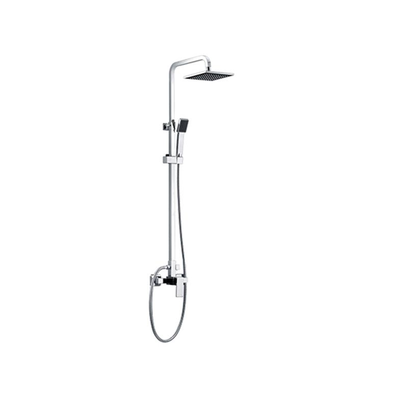 shower mixer installation -