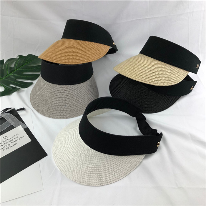 Simple Summer Straw Sun Hat