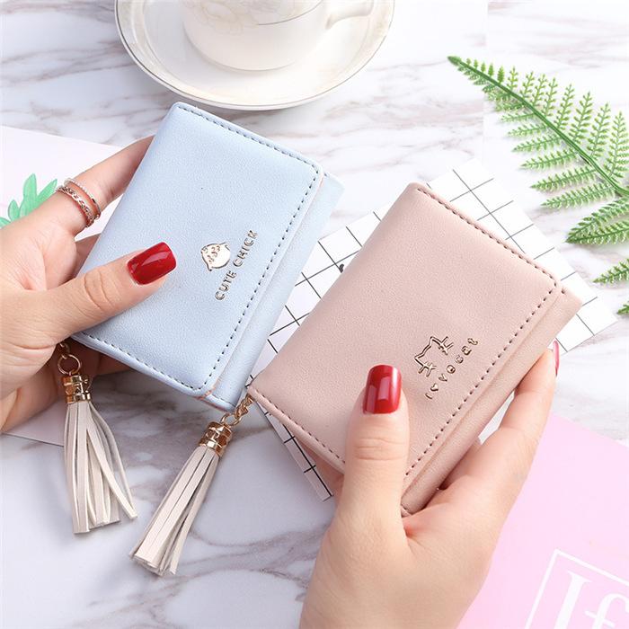 Multi-function tassel wallet