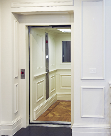 home elevator installation
