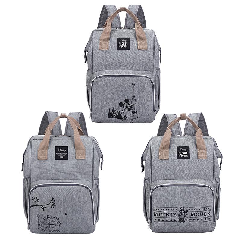 Disney Minnie Mickey Diaper Bag Backpack
