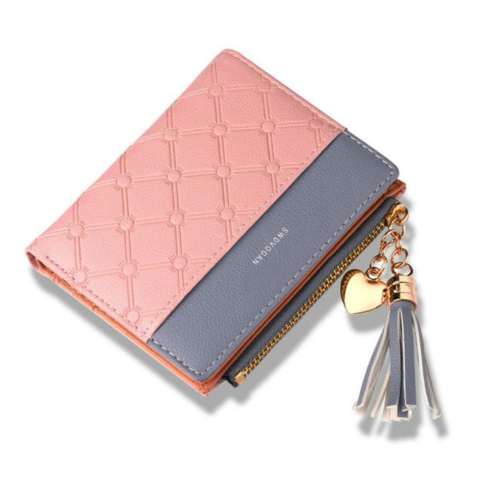 Tassel Leather Wallet