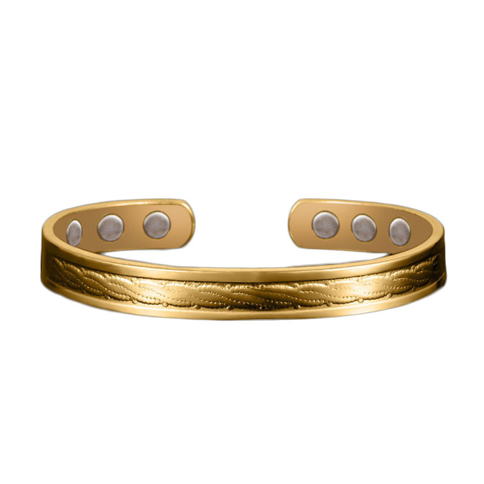 Open hand bracelet