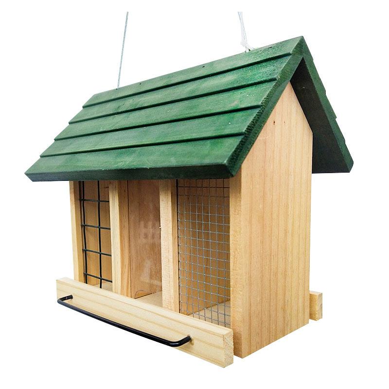 wooden bird feeder pet supplies