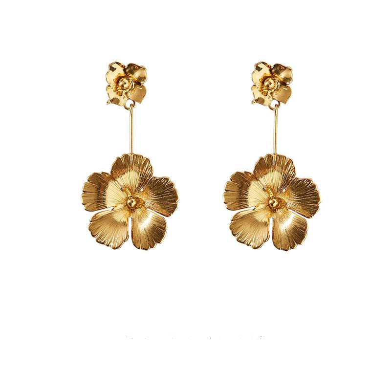 Flowers Dangle Earrings4