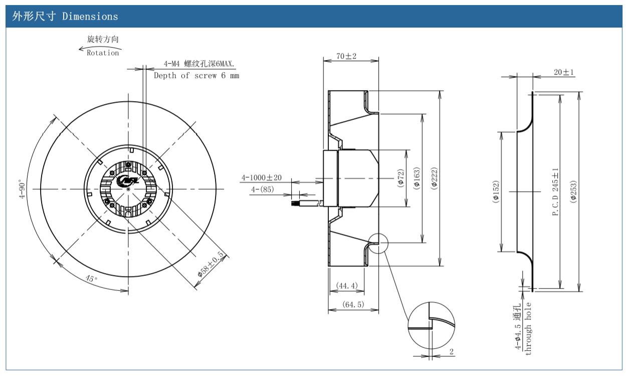 centrifugal fan surge