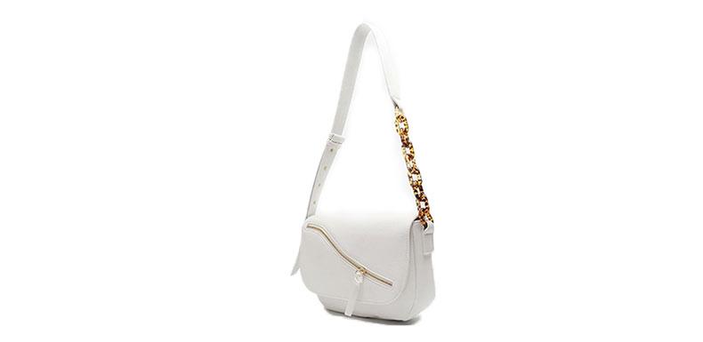 white shoulder bag manufacturer